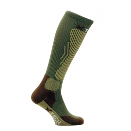 CALZA TECNICA COMPRESSION GREEN