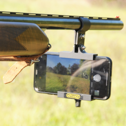 UNIVERSAL MOBILE PHONE HOLDER FOR RIFLES